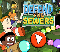Craig of the Creek: Defend the Sewers